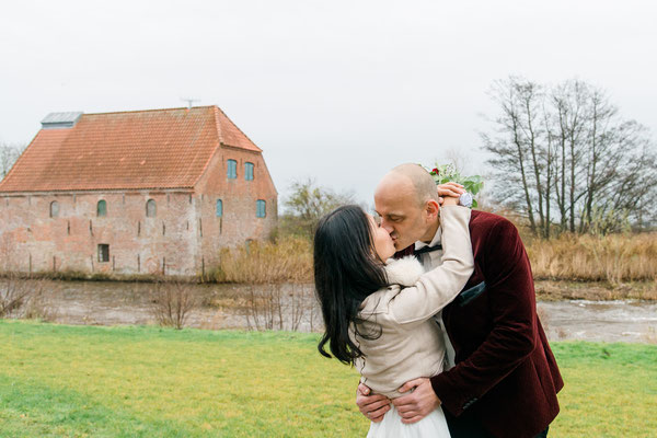Brautpaar in Tondern / Dänemark