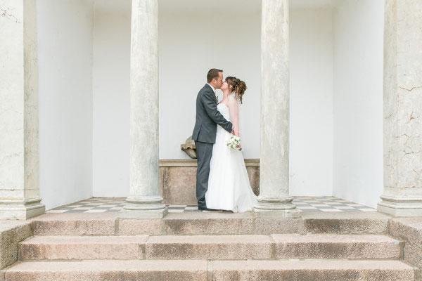 Brautpaarshooting im Schloss Gottorf