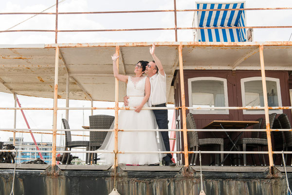 Brautpaarshooting in Damp
