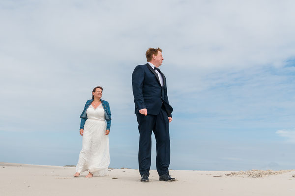 Brautpaarshooting auf Amrum