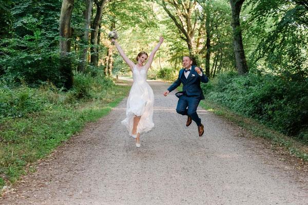 Brautpaarshooting in der Mareinhölzung Flensburg