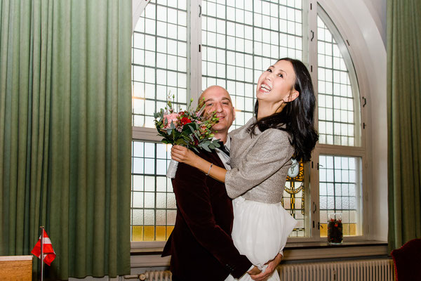 Im Trauzimmer vom Rathaus in Tondern / Dänemark