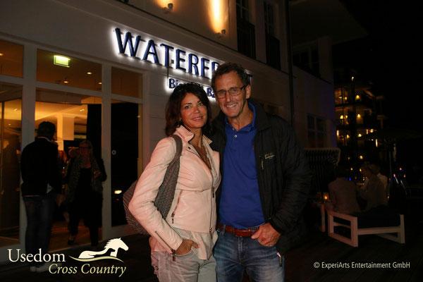 """Schauspielerin Gerit Kling ( ZDF """"Notruf  Hafenkante"""") und Lebenspartner  Foto: ©Experiarts Entertainment"""