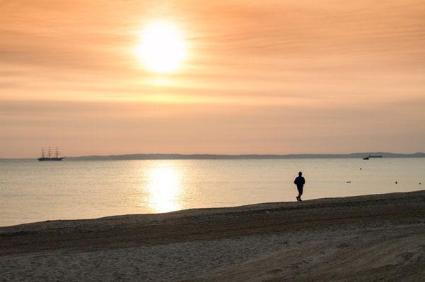 Die schöne Insel Usedom. Die Ruhe am Strand.  Foto: ©UTG