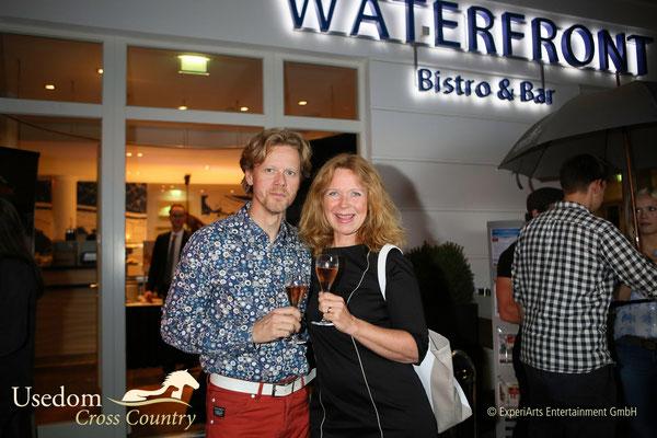 Schauspielerin Marion Kracht und Ehemann Berthold Manns  Foto: ©Experiarts Entertainment