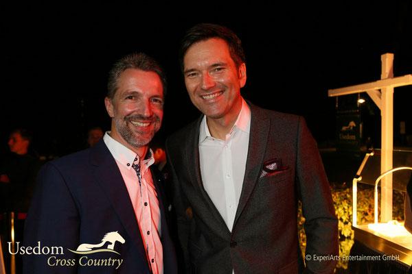 Hoteldirektor Carsten Willenbockel und ZDF Moderator Ingo Nommsen  Foto: ©Experiarts Entertainment