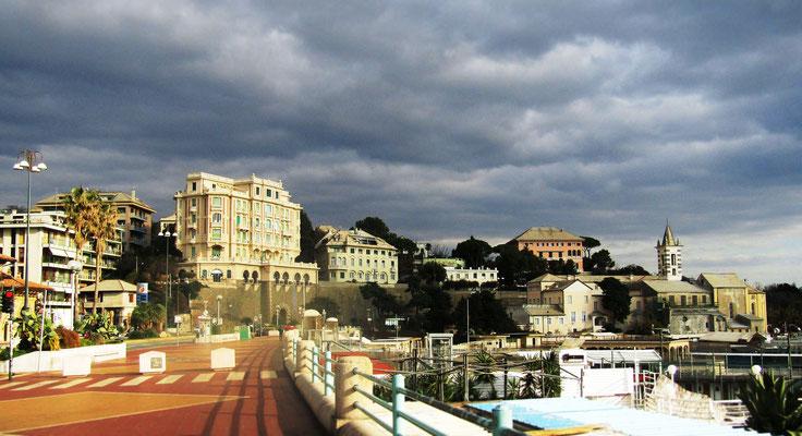 Генуя корсо Италия, экскурсия с Капчевской Татьяной