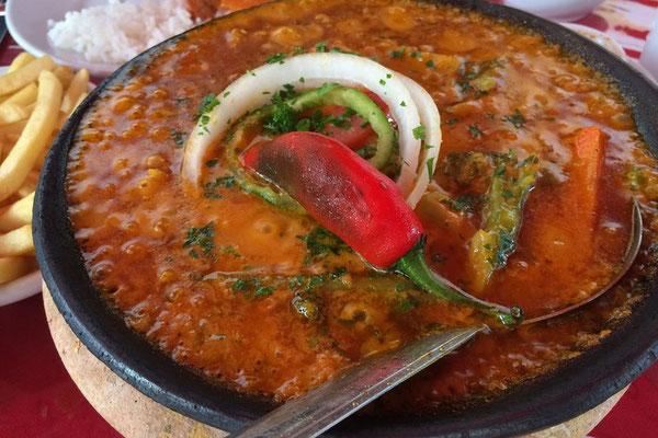 Moqueca, hier eine vegetarische Variante