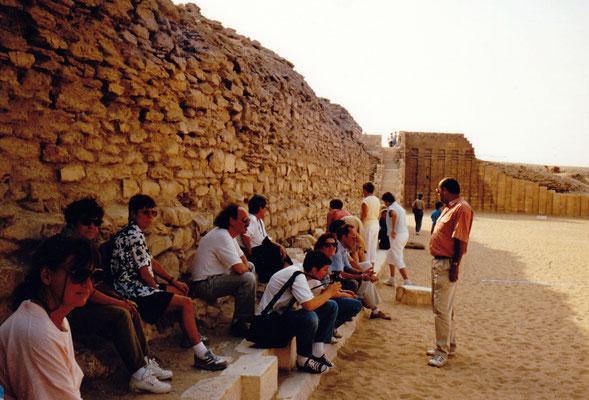 1992 Ägypten: Sakkara