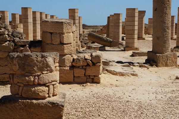 Ausgrabungen in Al Baleed