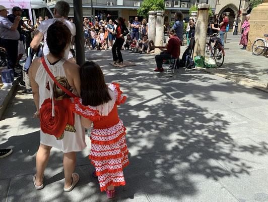 Streetlife ... Sevilla ist Flamenco