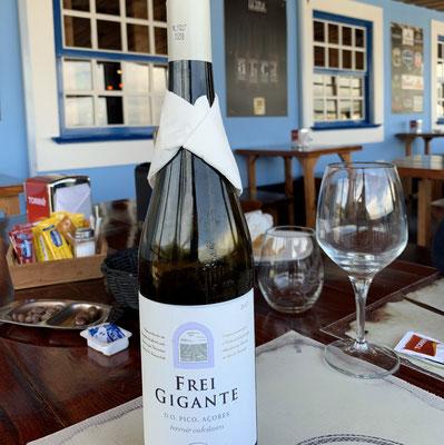 der beste Wein der Inseln kommt aus Pico