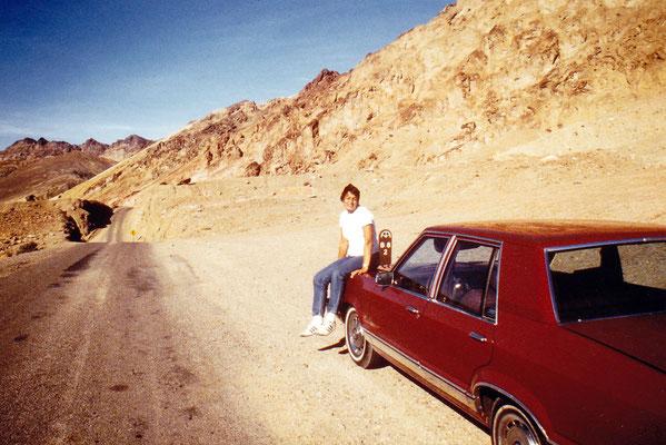 1985 USA: Death Valley