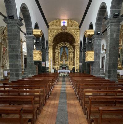in der Kirche von Madalena