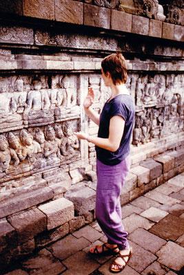 1984 Java, Indonesien: Borobudur