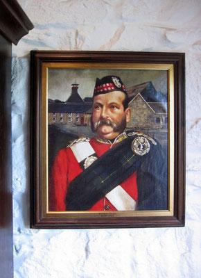 der Gründer der Brennerei, William Grant