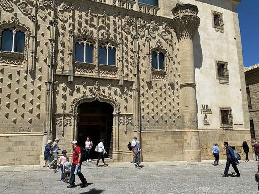 Baeza: Palacio de Jabalquinto, ein Teil der Universität