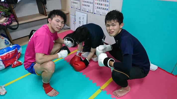 空手、拳法、柔道、他の格闘技経験者歓迎
