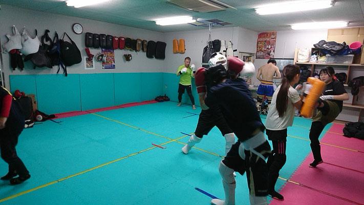 大和高田市のキックボクシングジムです。