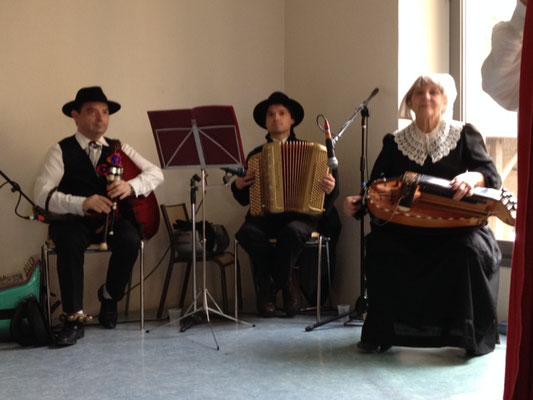 musiciens traditionnels ménestrels sarladais