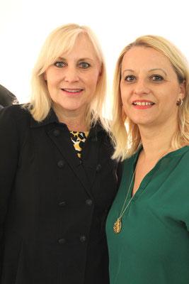 Angelika Winzig, Kandidatin Europawahl und Sneja Lemmerer