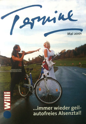 Willi Magazin 2001 - Titelseite