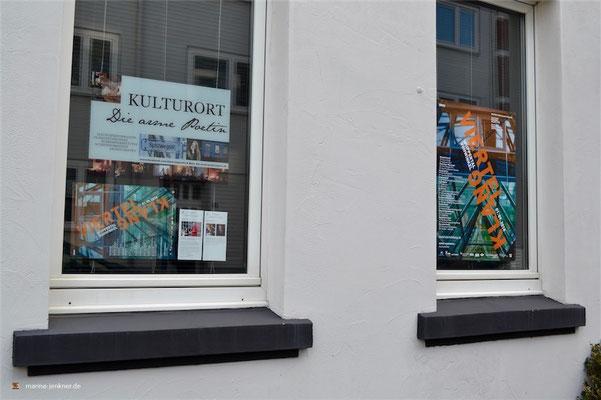 "Das Viertelklang-Festival zu Gast im Kulturort ""Die arme Poetin"" am 01. September 2018. (Foto: Kulturort ""Die arme Poetin"")"