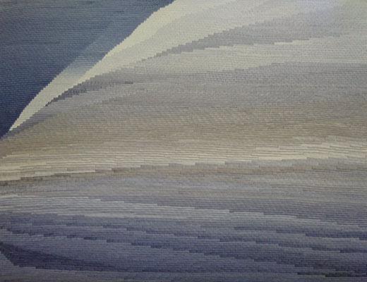 Klinker 2, drawing ink on paper,  93 x 113 cm