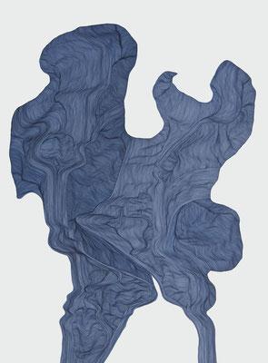 flexibelle, marker on paper, 65 x 50 cm