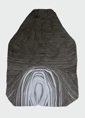erpicht 2, marker on paper, 100 x 70 cm