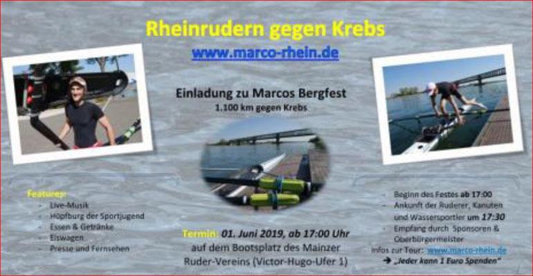 Rudern gegen Krebs mit Marco Matthes