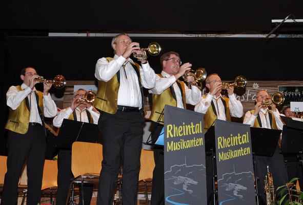 Rheintal-Musikanten unter Leitung von Richard Seitz