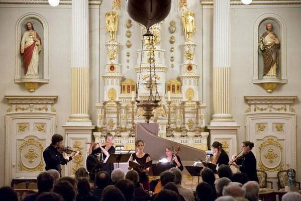 Cantate Non sa che sia dolore, J.S. Bach, La chamaille, Église Notre Dame des Victoires, Québec