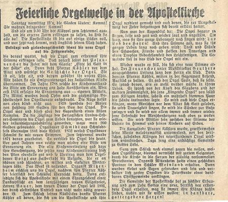 Hildburghäuser Zeitung am 21. Januar 1934