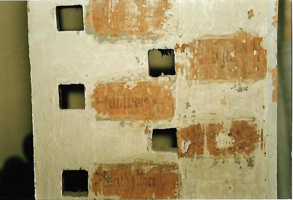 Registerbretter nach dem Ausbau in der Werkstatt von Schuke Orgelbau in Potsdam