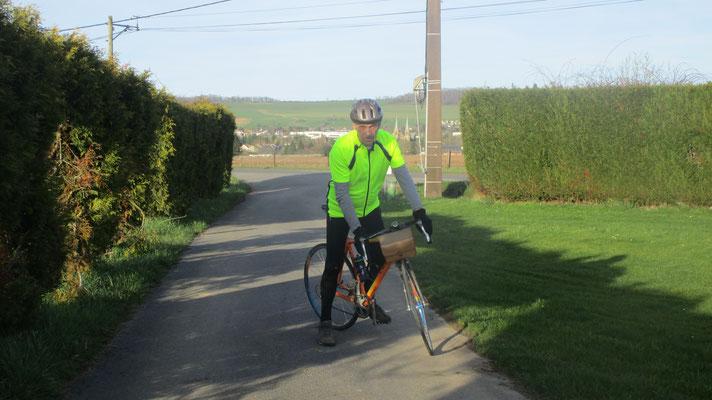Jean-François aime le vélo