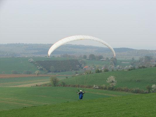 Parapente à Douzy avec l'Icarus Club Ardennais