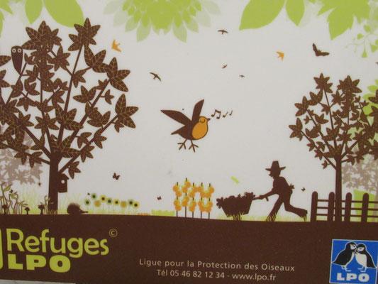 La Volette est un refuge de la ligue pour la protection des oiseaux