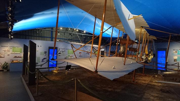 Le Musée des débuts de l'aviation