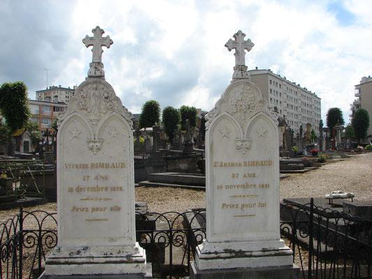Rimbaud - Cimetière de Charleville-Mézières