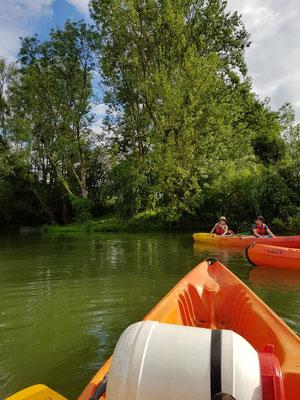 Canoë-Kayak sur la Meuse