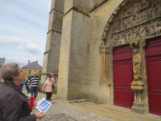 Église Notre-Dame de Mouzon - Entrée