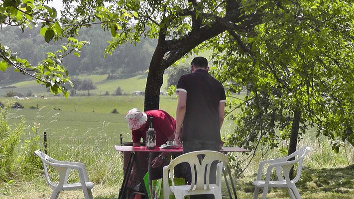 Un pique-nique dans la campagne, quoi de mieux ?