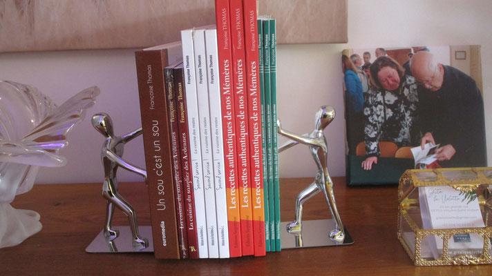 Françoise vient d'envoyer son 8ème livre sur le thème des Italiens d'ici à son éditeur