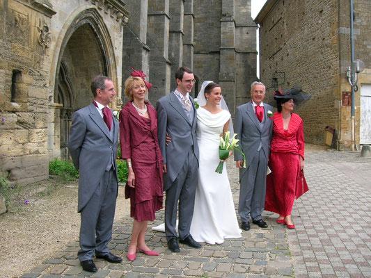 Se marier dans l'Abbatiale de Mouzon ; un must !