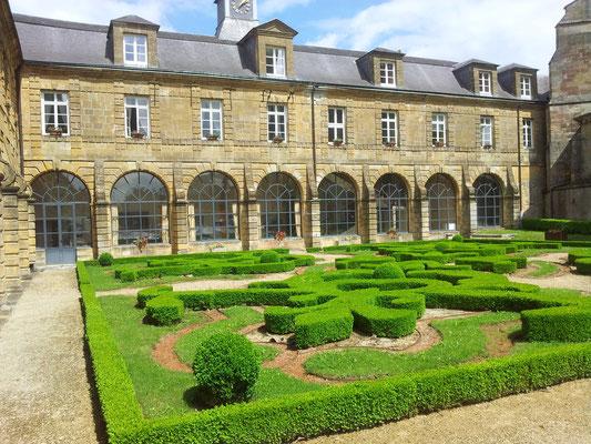 Les anciens jardins de l'Abbaye