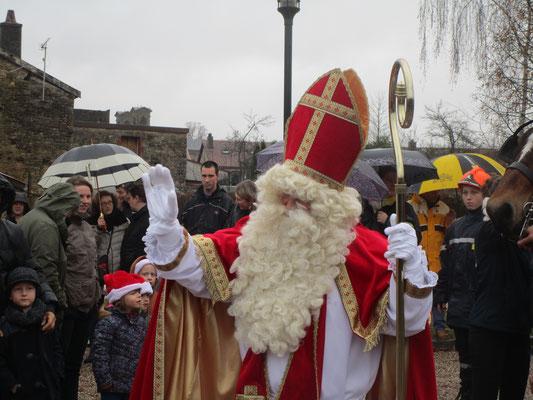 Le grand saint Nicolas, patron de la Lorraine et des petits enfants (sages) est fêté le 6 décembre