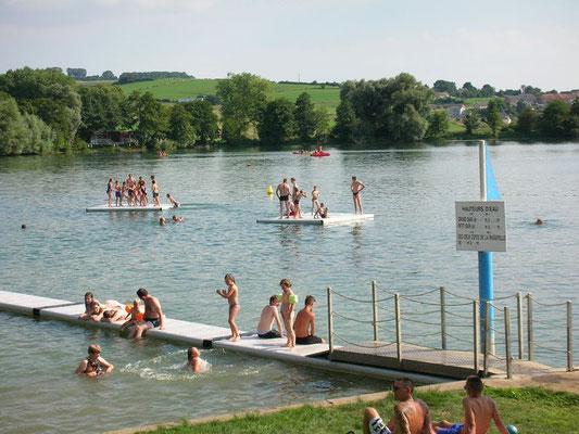 Bases de loisirs à Dun-sur-Meuse et à Douzy