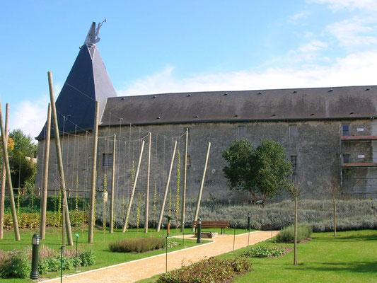 Musée de la bière ; une façade majestueuse