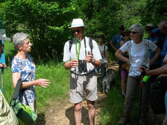 Dominique Landragin, responsable de la LPO Meuse, a l'art de conter les oiseaux, la faune et la flore